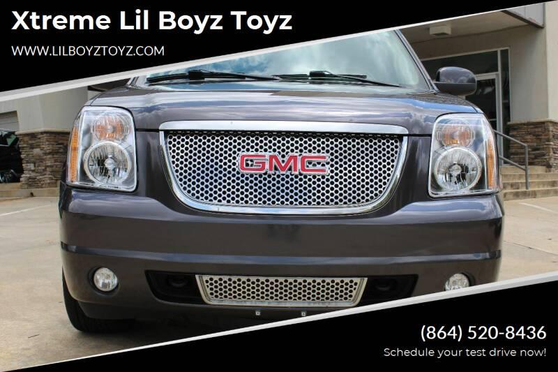 2010 GMC Yukon XL for sale at Xtreme Lil Boyz Toyz in Greenville SC