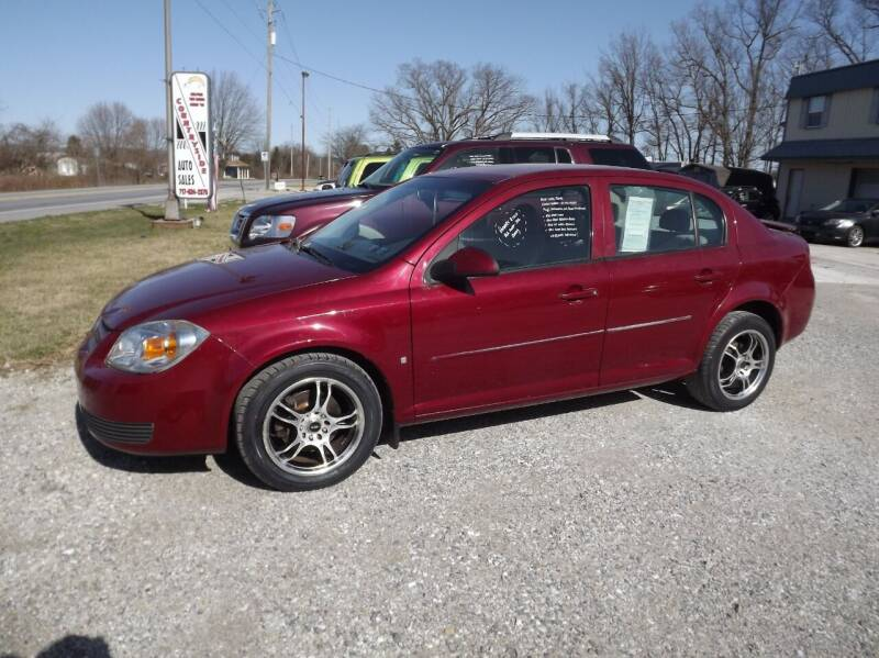 2007 Chevrolet Cobalt for sale at Country Side Auto Sales in East Berlin PA