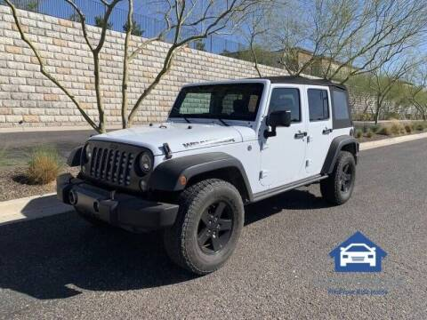 2016 Jeep Wrangler Unlimited for sale at MyAutoJack.com @ Auto House in Tempe AZ