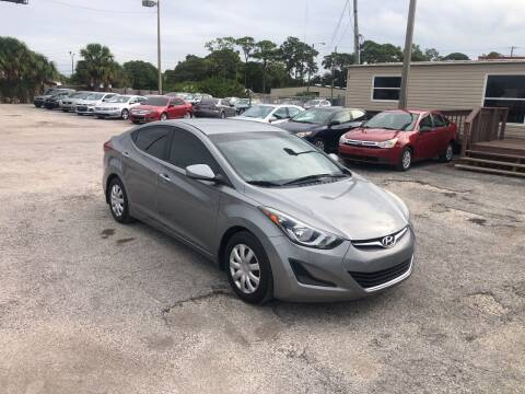 2016 Hyundai Elantra for sale at Friendly Finance Auto Sales in Port Richey FL