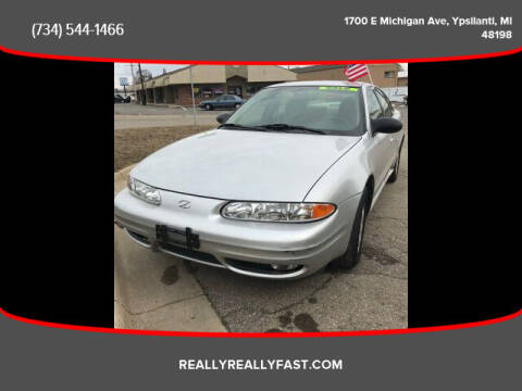 2004 Oldsmobile Alero for sale at Fast Car Automotive in Ypsilanti MI