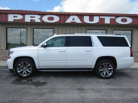 2016 Chevrolet Suburban for sale at Pro Auto Sales in Carroll IA
