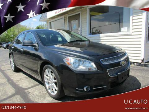 2012 Chevrolet Malibu for sale at U C AUTO in Urbana IL