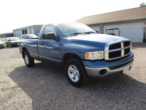 2002 Dodge Ram Pickup 1500 for sale at Car Corner in Sioux Falls SD