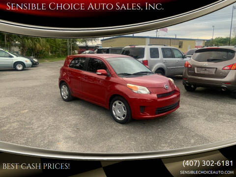 2009 Scion xD for sale at Sensible Choice Auto Sales, Inc. in Longwood FL