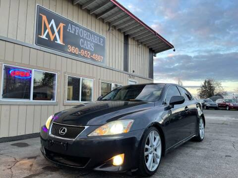 2007 Lexus IS 250 for sale at M & A Affordable Cars in Vancouver WA