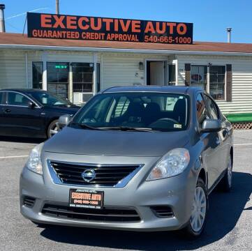 2013 Nissan Versa for sale at Executive Auto in Winchester VA