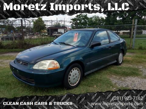 1997 Honda Civic for sale at Moretz Imports, LLC in Spring TX