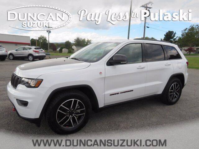 2020 Jeep Grand Cherokee for sale at DUNCAN SUZUKI in Pulaski VA