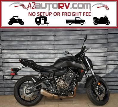 2020 Yamaha MT-07 for sale at Motomaxcycles.com in Mesa AZ