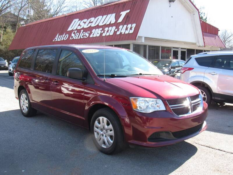 2018 Dodge Grand Caravan for sale at Discount Auto Sales in Pell City AL