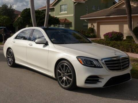 2020 Mercedes-Benz S-Class for sale at Lifetime Automotive Group in Pompano Beach FL
