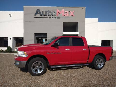 2012 RAM Ram Pickup 1500 for sale at AutoMax of Memphis - Darrell James in Memphis TN