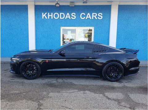 2016 Ford Mustang for sale at Khodas Cars in Gilroy CA