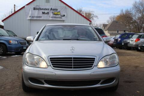 2004 Mercedes-Benz S-Class for sale at Rochester Auto Mall in Rochester MN