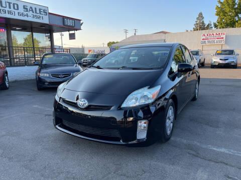 2010 Toyota Prius for sale at Adams Auto Sales in Sacramento CA