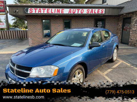 2009 Dodge Avenger for sale at Stateline Auto Sales in South Beloit IL