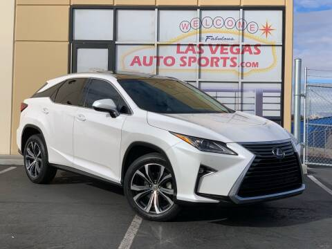 2016 Lexus RX 350 for sale at Las Vegas Auto Sports in Las Vegas NV