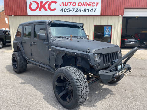 2015 Jeep Wrangler Unlimited for sale at OKC Auto Direct in Oklahoma City OK