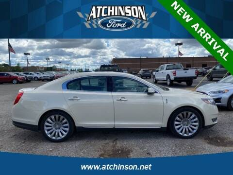 2015 Lincoln MKS for sale at Atchinson Ford Sales Inc in Belleville MI