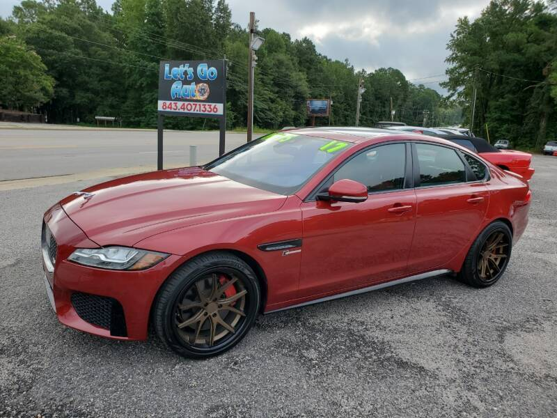 2017 Jaguar XF for sale at Let's Go Auto in Florence SC