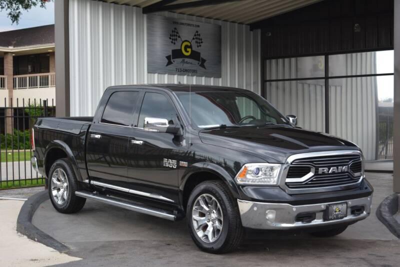 2018 RAM Ram Pickup 1500 for sale at G MOTORS in Houston TX
