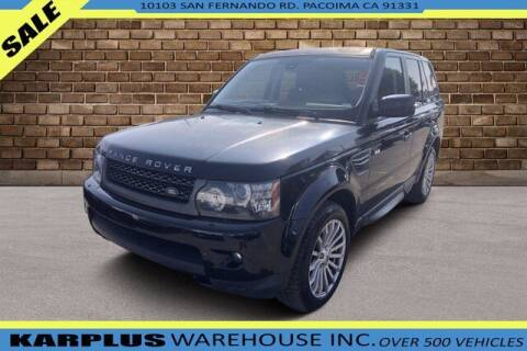 2011 Land Rover Range Rover Sport for sale at Karplus Warehouse in Pacoima CA
