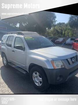 2007 Nissan Xterra for sale at Supreme Motors in Tavares FL