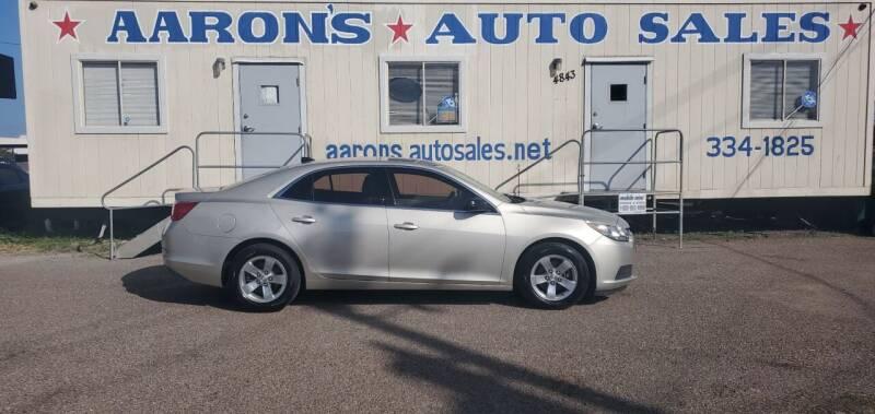 2014 Chevrolet Malibu for sale at Aaron's Auto Sales in Corpus Christi TX