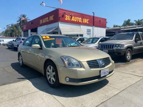 2004 Nissan Maxima for sale at 3K Auto in Escondido CA