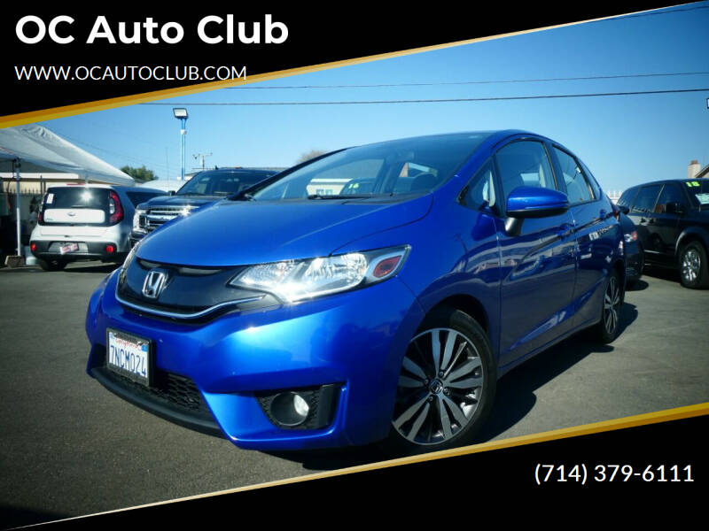 2016 Honda Fit for sale at OC Auto Club in Midway City CA