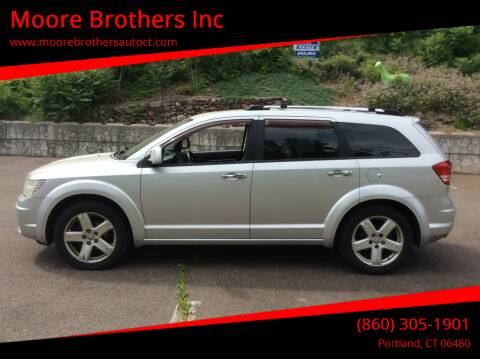 2009 Dodge Journey for sale at Moore Brothers Inc in Portland CT