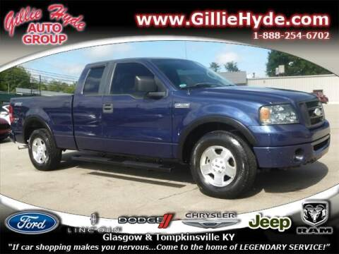 2008 Ford F-150 for sale at Gillie Hyde Auto Group in Glasgow KY