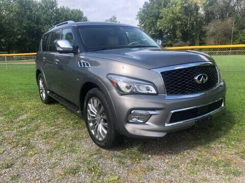2015 Infiniti QX80 for sale at RS Motors in Falconer NY