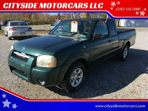2002 Nissan Frontier for sale at CITYSIDE MOTORCARS LLC in Canfield OH