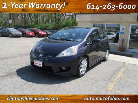 2010 Honda Fit for sale at Clintonville Car Sales - AutoMart of Ohio in Columbus OH