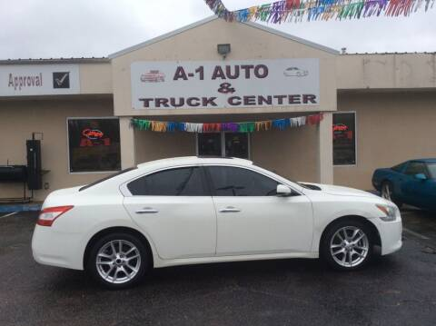 2011 Nissan Maxima for sale at A-1 AUTO AND TRUCK CENTER in Memphis TN