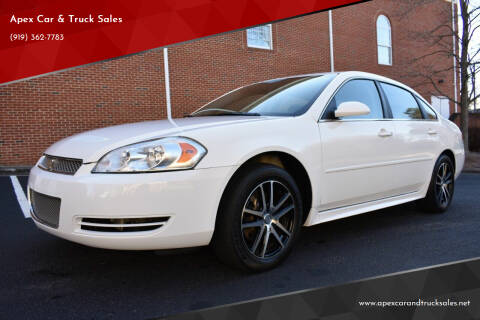 2013 Chevrolet Impala for sale at Apex Car & Truck Sales in Apex NC