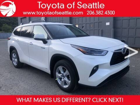 2021 Toyota Highlander Hybrid for sale at Toyota of Seattle in Seattle WA