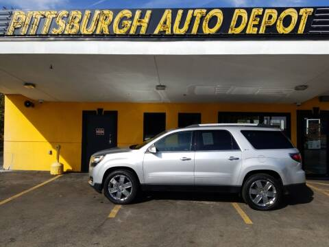 2017 GMC Acadia Limited for sale at Pittsburgh Auto Depot in Pittsburgh PA