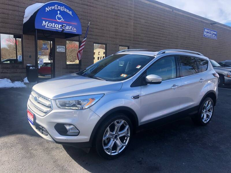 2017 Ford Escape for sale at CJ Clark's New England Motor Car Company in Hudson NH