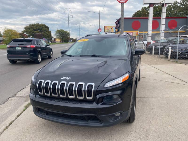 2015 Jeep Cherokee for sale at Matthew's Stop & Look Auto Sales in Detroit MI