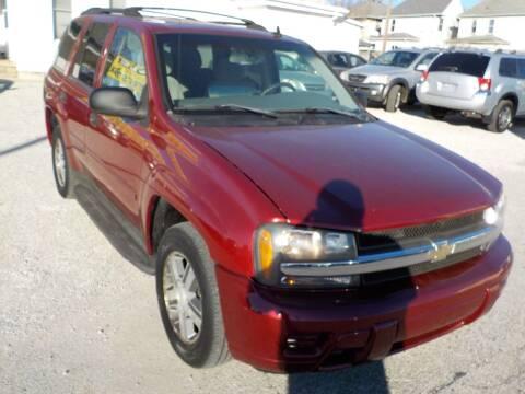 2006 Chevrolet TrailBlazer for sale at SEBASTIAN AUTO SALES INC. in Terre Haute IN