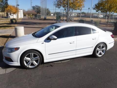 2012 Volkswagen CC for sale at J & E Auto Sales in Phoenix AZ