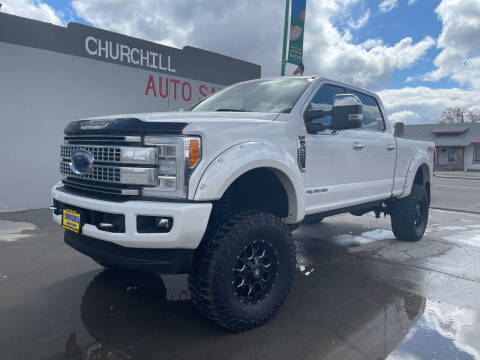 2017 Ford F-350 Super Duty for sale at CHURCHILL AUTO SALES in Fallon NV