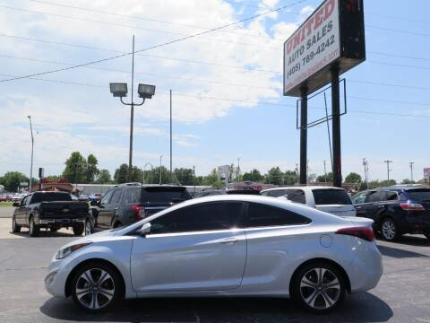 2014 Hyundai Elantra Coupe for sale at United Auto Sales in Oklahoma City OK