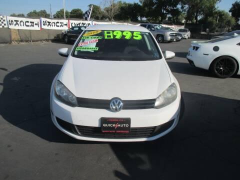 2010 Volkswagen Golf for sale at Quick Auto Sales in Modesto CA