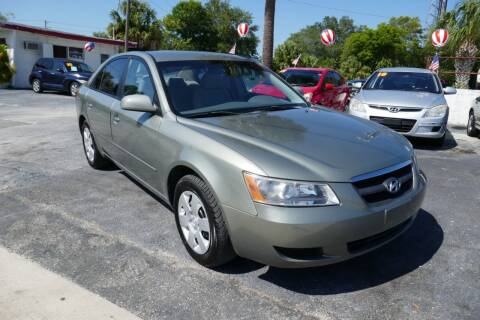 2008 Hyundai Sonata for sale at J Linn Motors in Clearwater FL