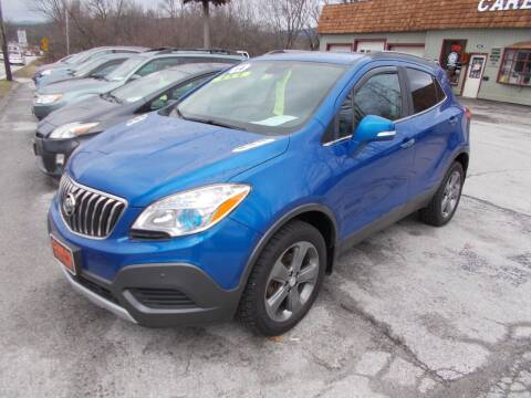 2014 Buick Encore for sale at Careys Auto Sales in Rutland VT