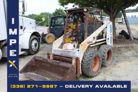 1987 Bobcat 743 for sale at Impex Auto Sales in Greensboro NC
